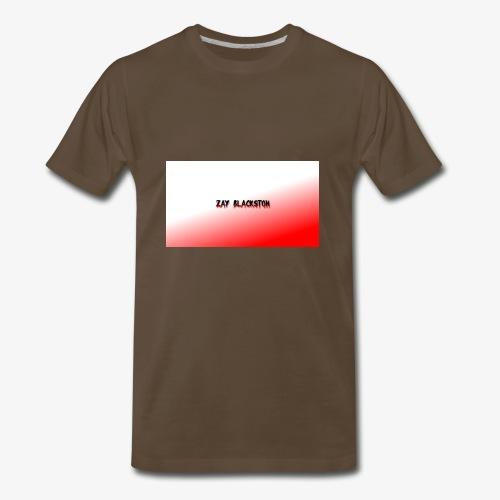 zay x red,white - Men's Premium T-Shirt