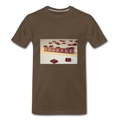 Be Courageous in LifeT-Shirt - Men's Premium T-Shirt