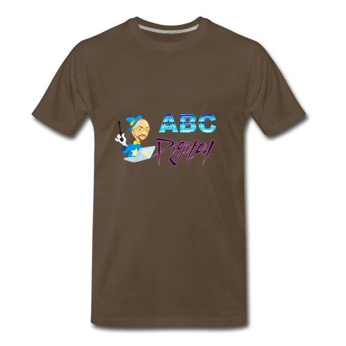 Wizard and Logo - Men's Premium T-Shirt
