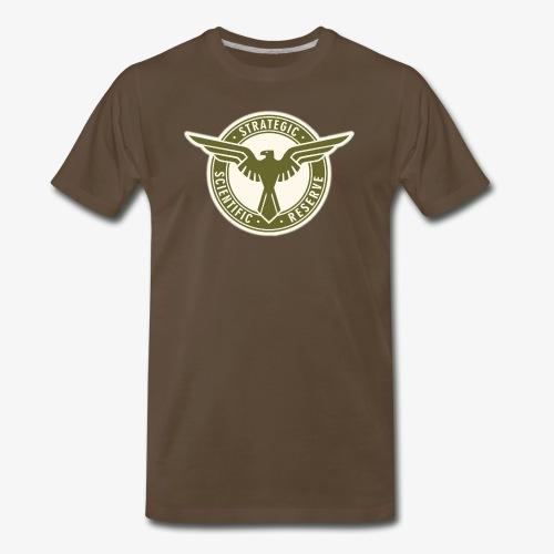 SSR in Army Green - Men's Premium T-Shirt