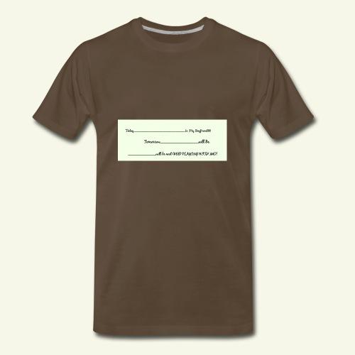 Keep Playing - Men's Premium T-Shirt