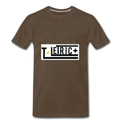 T-LETRIC Box logo merchandise - Men's Premium T-Shirt