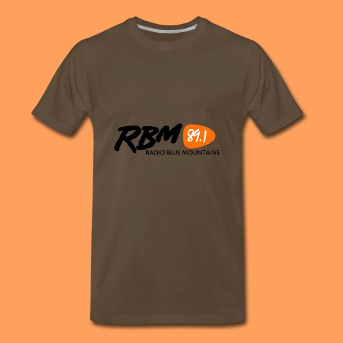 RBM Logo - Orange - Men's Premium T-Shirt