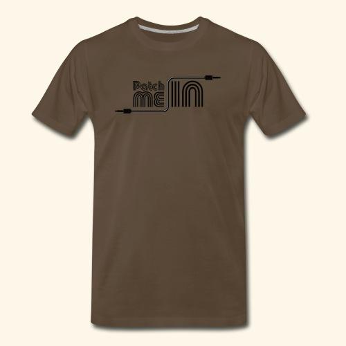 Patch Me In - Black Logo - Men's Premium T-Shirt