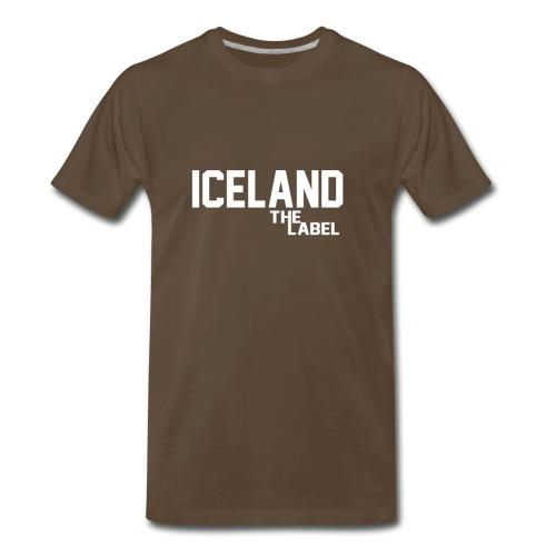 iceland_the_label_printable - Men's Premium T-Shirt