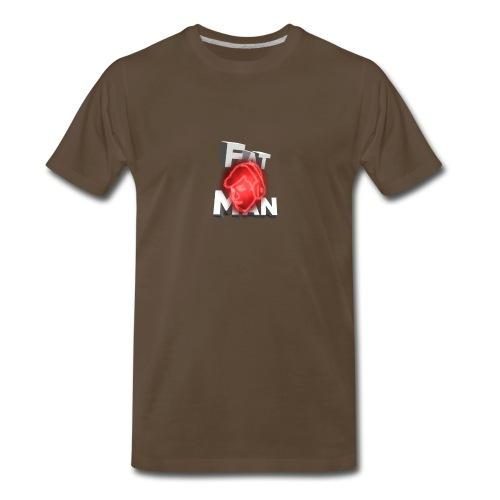 Fat Man // ItsRobert Merch - Men's Premium T-Shirt