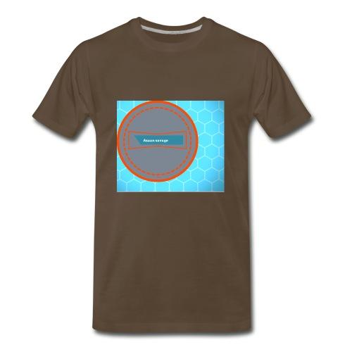 Azaan savage merch - Men's Premium T-Shirt