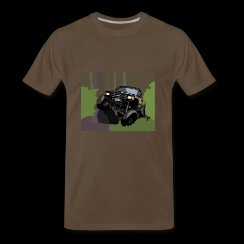 The Jalopy Rectangle - Men's Premium T-Shirt