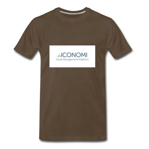 Iconomi - Men's Premium T-Shirt