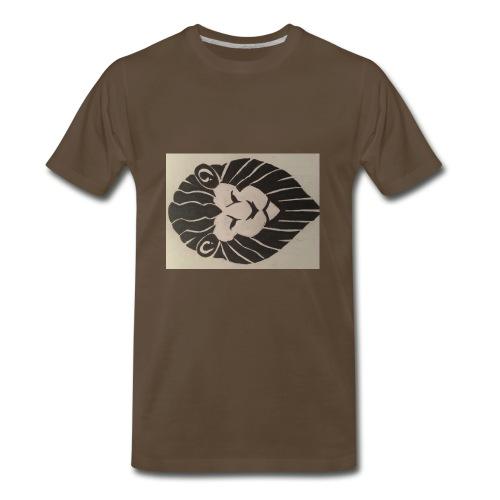 King Broccoli Logo - Men's Premium T-Shirt