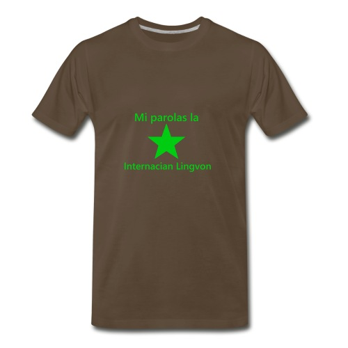 I speak the international language - Men's Premium T-Shirt