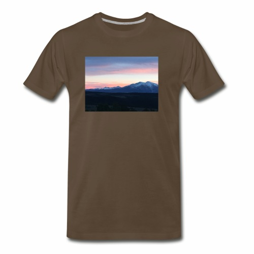 Her Majesty Mt Sopris - Men's Premium T-Shirt