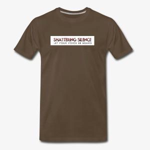 Shattering Silence T-Shirts - Men's Premium T-Shirt