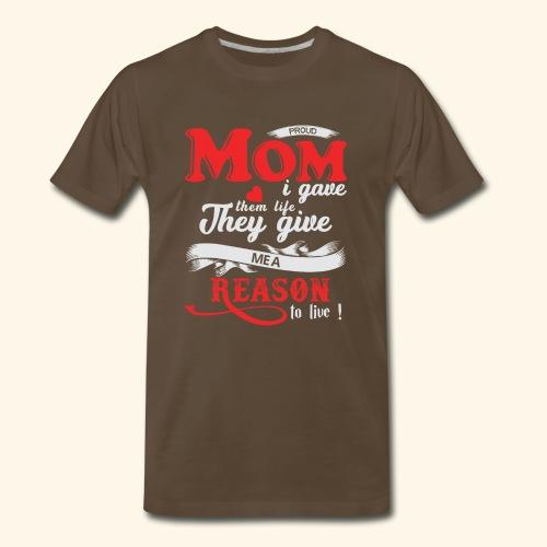 MOM tshirts. It's a perfect - Men's Premium T-Shirt