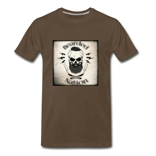 BN Rustic Logo - Men's Premium T-Shirt