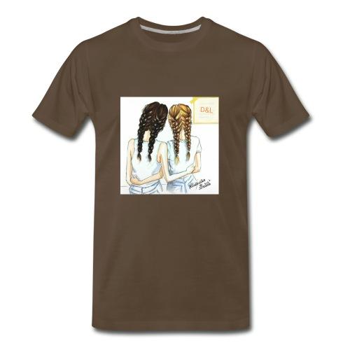 Braid bff's - Men's Premium T-Shirt