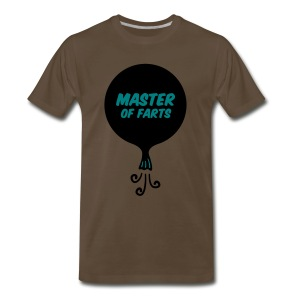 Master of Farts (2 color) - Men's Premium T-Shirt