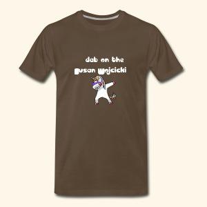 dab on the Susan Wojcicki - Men's Premium T-Shirt