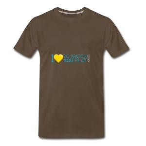 I love to watch you play - Men's Premium T-Shirt