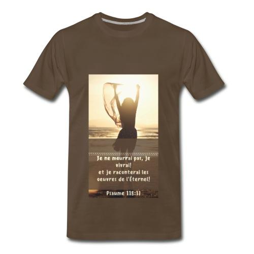 Je ne mourrai pas collection - Men's Premium T-Shirt