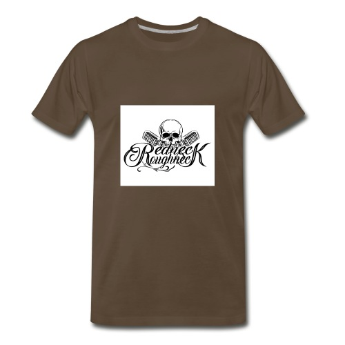 Redneck Roughneck - Men's Premium T-Shirt