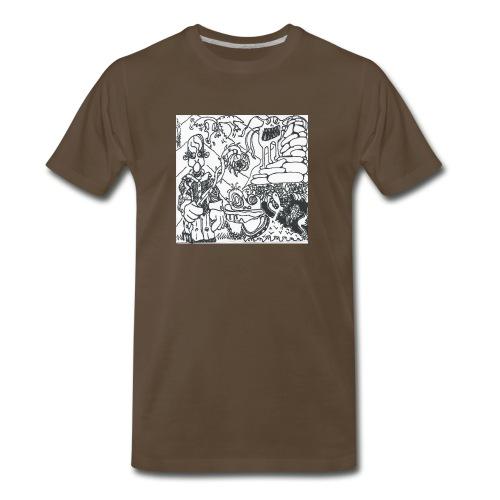 Pressure Clown Archives II Cover - Men's Premium T-Shirt
