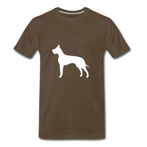 Great Dane - Men's Premium T-Shirt