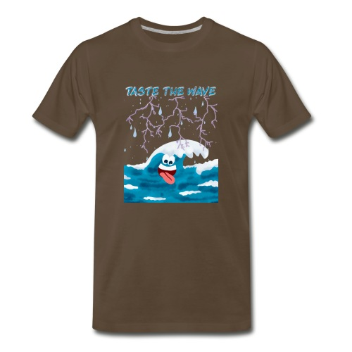 Taste The Wave - Men's Premium T-Shirt