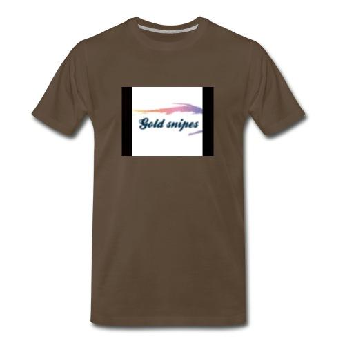 Kids Gold snipes Tshirt - Men's Premium T-Shirt