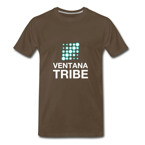 Ventana Tribe White Logo - Men's Premium T-Shirt