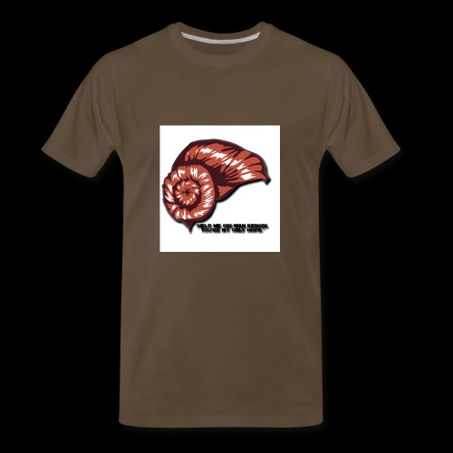 Princess Leia Hair - Men's Premium T-Shirt