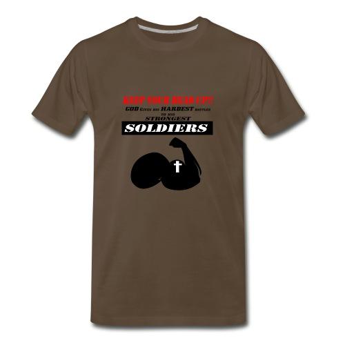 Gods Soldier - Men's Premium T-Shirt