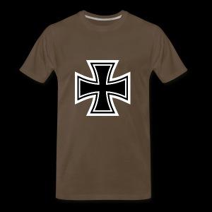 ESCAPE WORLD CROSS HOODIE - Men's Premium T-Shirt