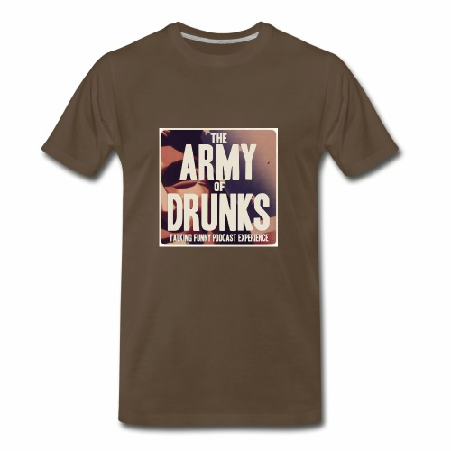 Army of Drunks Classic Logo - Men's Premium T-Shirt
