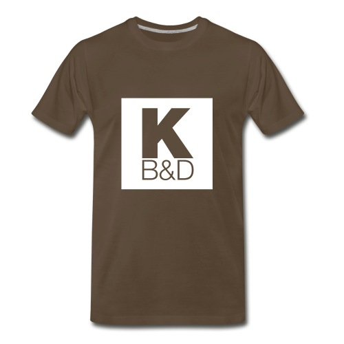 KBD_White - Men's Premium T-Shirt