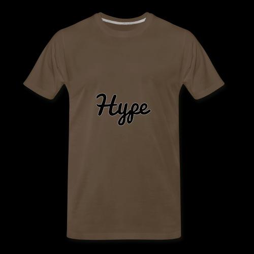 Hype Logo - Men's Premium T-Shirt