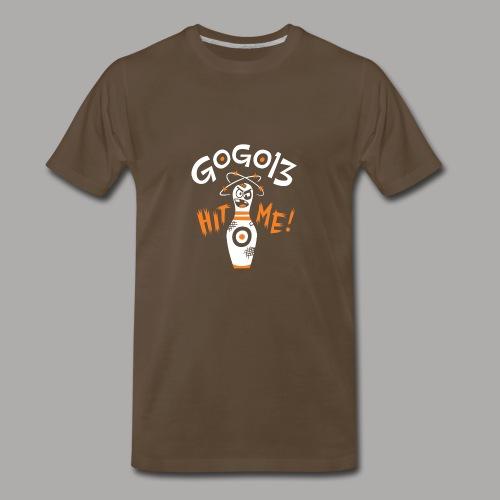 GOGO13 Hit Me! - Men's Premium T-Shirt