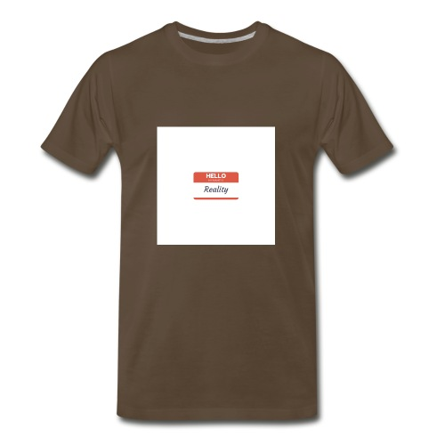 Let sGETReal - Men's Premium T-Shirt