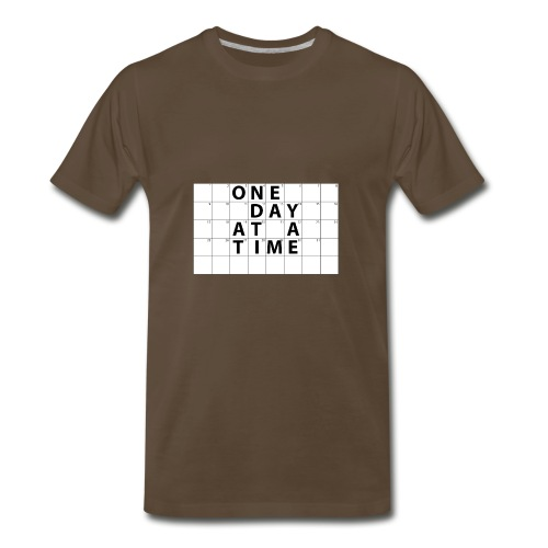 One Day At A Time Inverse - Men's Premium T-Shirt