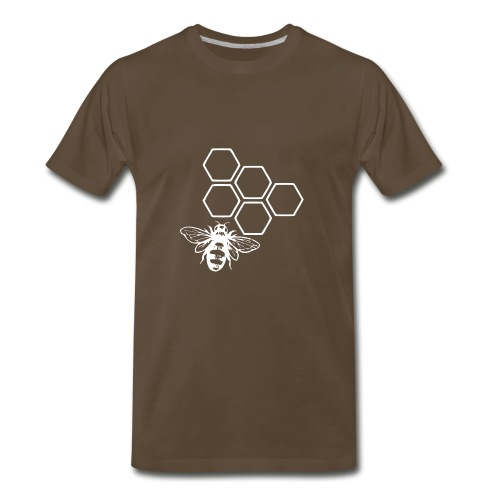 beewhite - Men's Premium T-Shirt