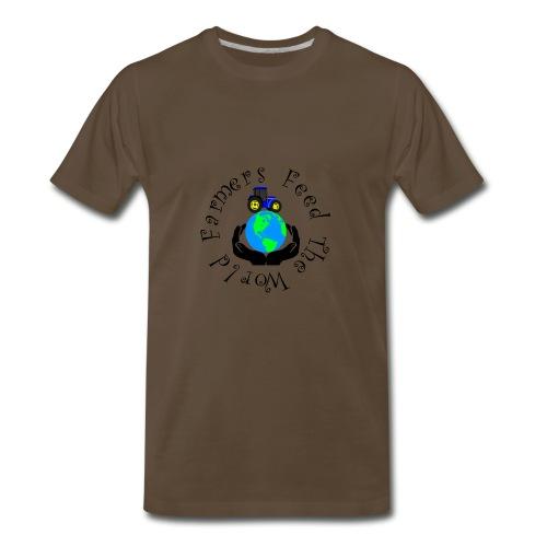 Farmers Feed The World - Men's Premium T-Shirt