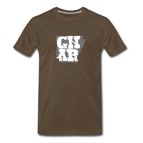 Gnar State Logo - Men's Premium T-Shirt