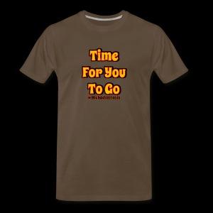 Time 4U 2 Go - Men's Premium T-Shirt