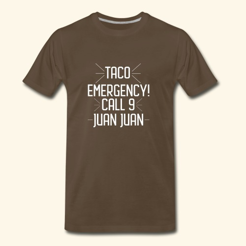 taco emergency - Men's Premium T-Shirt