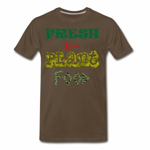 Fresh Live Plant Food - Men's Premium T-Shirt