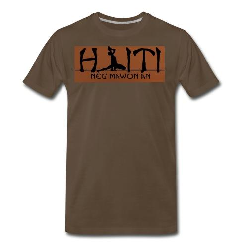 Neg Mawon an Haiti - Men's Premium T-Shirt