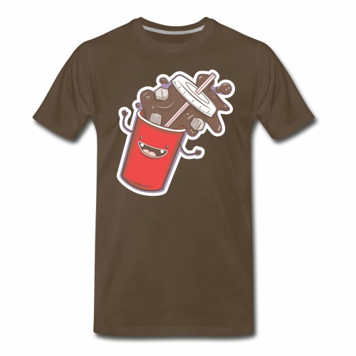 Soda Fall - Men's Premium T-Shirt