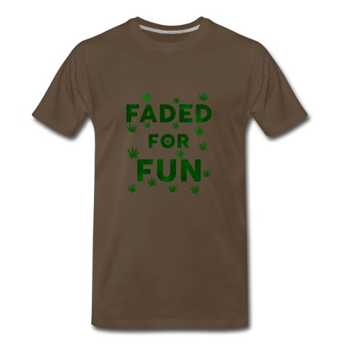 Faded For Fun - Men's Premium T-Shirt