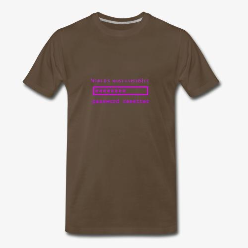 World's Most Expensive Password Resetter Pink - Men's Premium T-Shirt