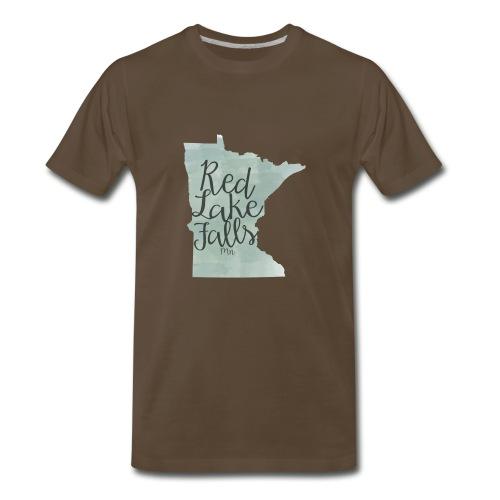 Red Lake Falls Long Sleeve Shirt - Men's Premium T-Shirt